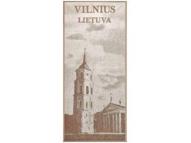 """Lininis rankšluostis """"Vilnius"""""""