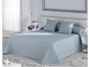 """NUKAITOTAS lovos užtiesalas """"Happy"""" (Azul Turquesa). Nukainavimo priežastis, prekė iš ekspozicijos, paprastame įpakavime."""