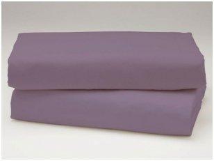 Medvilninė paklodė (purpurinė)