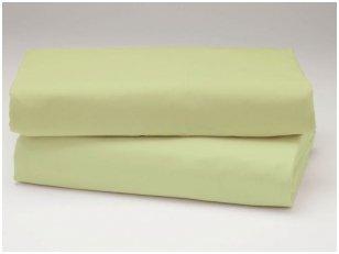 Medvilninė paklodė (gaivi žalia)