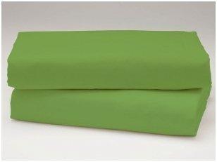 Medvilninė paklodė (tamsiai žalia)
