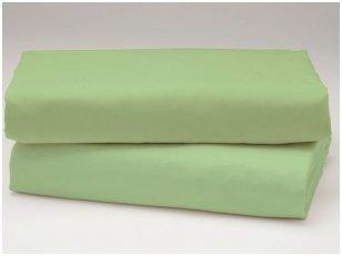 Medvilninė paklodė (žalia)