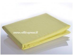 Medvilninė paklodė (skaisti geltona)