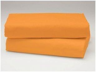 Medvilninė paklodė (apelsininė)