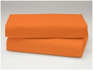 Medvilninė paklodė (oranžinė)