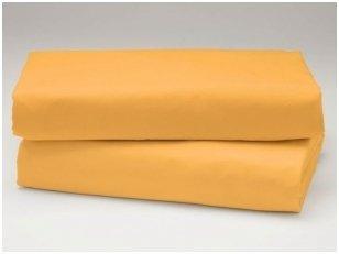 Medvilninė paklodė (geltona)