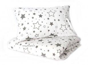 "Medvilninis pagalvės užvalkalas ""Žvaigždžių lietus"" (40x60 cm, 1 vnt)"