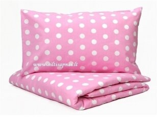 "Medvilninis pagalvės užvalkalas ""Romantiškos žvaigždės"" (50x70 cm, 1 vnt)"