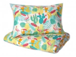 "Medvilninis pagalvės užvalkalas ""Tropikai"" (40x60 cm, 1 vnt)"