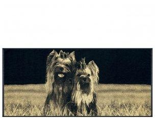 """Medvilninis rankšluostis """"Yorkshire Terrier"""" (67x150 cm)"""