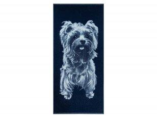 """Medvilninis rankšluostis """"Yorkshire Terrier"""" 2 (67x150 cm)"""