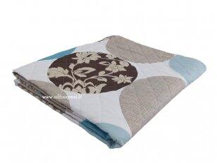 """Medvilninis užklotas-antklodėlė """"Šilta vasara"""" (140x205 cm)"""