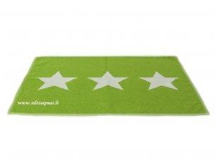"Medvilninis vonios kilimėlis ""Stars"" (green)"