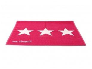 "Medvilninis vonios kilimėlis ""Stars"" (red)"