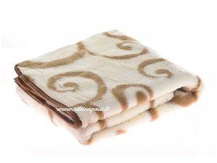 """Merinosų vilnos antklodė-pledas """"India"""""""