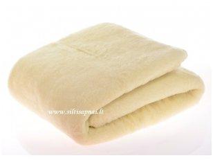 """Merinosų vilnos antklodė """"Pienė"""" (140x200 cm)"""