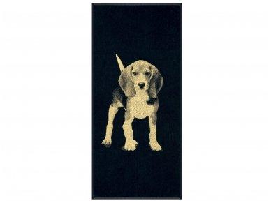 """Medvilninis rankšluostis """"Beagle"""" (67x150 cm)"""
