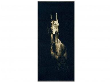"""Medvilninis rankšluostis """"Doberman"""" (67x150 cm)"""