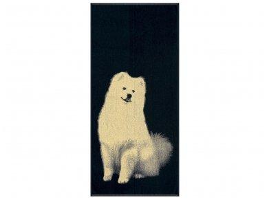 """Medvilninis rankšluostis """"Samoyed"""" (67x150 cm)"""