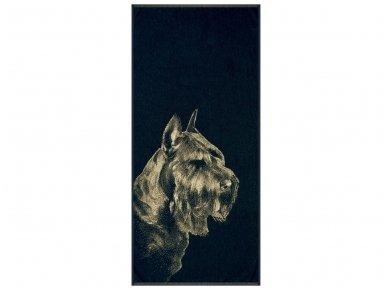 "Medvilninis rankšluostis ""Schnauzer"" (67x150 cm)"