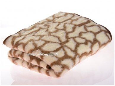 """Merinosų vilnos antklodė-pledas """"Malibu"""" (140x200 cm)"""