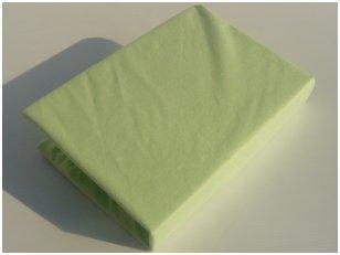 Neperšlampama paklodė su guma 60x120 cm (žalia)