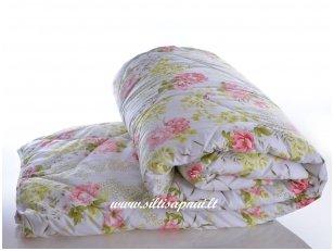 Nukainota vasarinė antklodė su vilnos užpildu 250g/m2