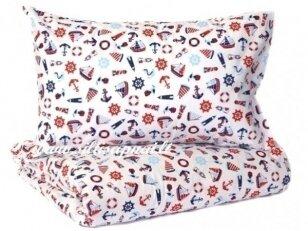 """Pagalvėlė su pagalvės užvalkalu """"Jūreivis"""" (40x40 cm)"""