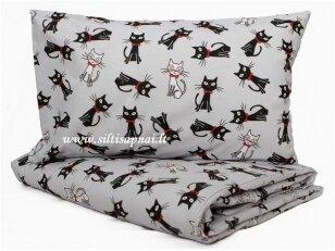 """Pagalvės užvalkalas """"Mieli katinėliai"""" (35x40 cm)"""