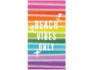 """Paplūdimio rankšluostis """"Per bangas"""""""
