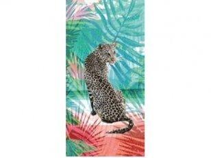 "Paplūdimio rankšluostis ""Leopardas"""