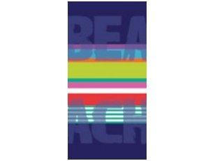"""Paplūdimio rankšluostis """"Beach"""" (margas)"""