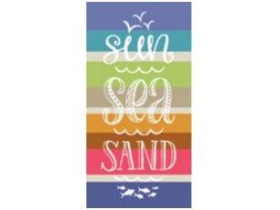 "Paplūdimio rankšluostis ""Jūra"""