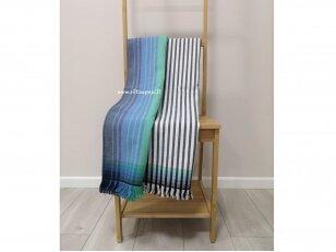 """Paplūdimio rankšluostis-pledas """"Jūros mūša"""" (100x180 cm)"""