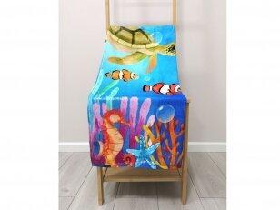 """Paplūdimio rankšluostis """"Vandenynas"""" (75x150 cm)"""