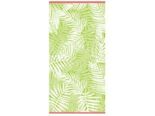 """Paplūdimio rankšluostis """"Palmės Lapai"""" (žalias)"""