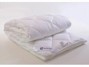 NUKAINOTA aukštos kokybės medvilnės (poplino) vasarinė antklodė su poliesterio užpildu 200g/m2
