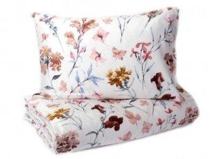 """Satino pagalvės užvalkalas """"Stebuklingi žiedai"""" 50x70 cm (3 vnt.)"""
