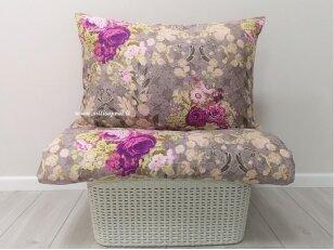 "Satino pagalvės užvalkalas ""Vintažas"" 50x70 cm"