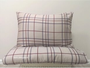 "Satino pagalvės užvalkalas ""Koko"" 60x60 cm (1 vnt.)"