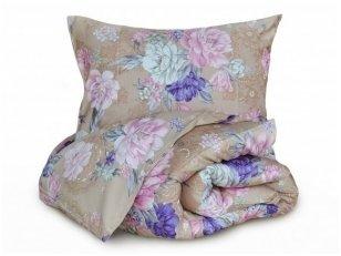 """Satino pagalvės užvalkalas """"Karališki bijūnai"""""""