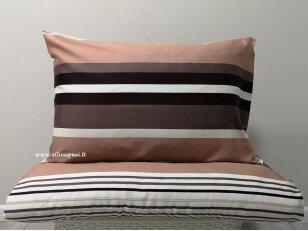 """Satino pagalvės užvalkalas """"Šokolado kerai"""" 50x70 cm (1vnt. su užtrauktuku)"""