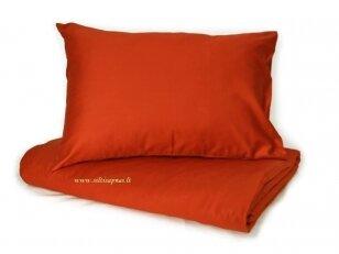 """Satino pagalvės užvalkalas """"DISCOVERY"""" (terra) 50x70 cm (2 vnt.)"""