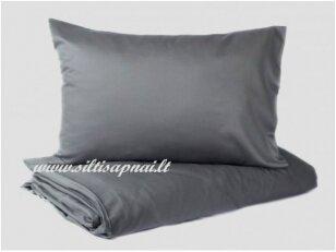 """Satino patalynė """"DISCOVERY"""" (Grey) (220x240 cm (1 vnt), 50x70 cm (2 vnt))"""