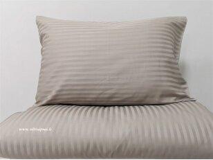 """Satino patalynės komplektas """"Charm"""" (beige) (140x200 cm, 50x70 cm)"""
