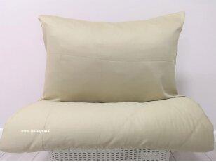 """Satino antklodės užvalkalas """"DISCOVERY"""" (olives) 200x200 cm (1 vnt.)"""
