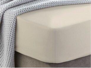 """Siuvama medvilnės paklodė su guma """"Whitecap gray"""""""