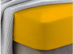 """Siuvama medvilnės paklodė su guma """"Gold fusion"""""""