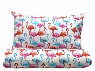 """Siuvama patalynė vaikams """"Flamingai"""""""