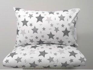 """Siuvama patalynė vaikams """"Žvaigždžių burtai""""  (110x140 cm, 40x60 cm)"""